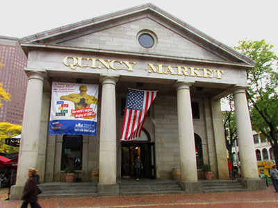 Quincy Market à Boston